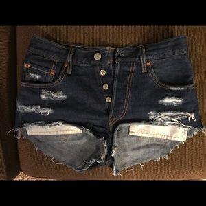 Levi's Jeans - Stylish high waisted Levi's short